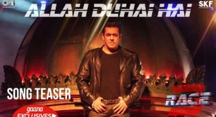 Race 3 Song Allah Duhai Hai is Released