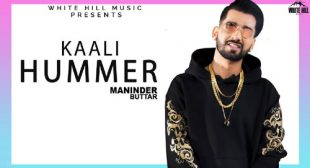 Kaali Hummer Lyrics – Maninder Buttar