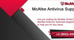 McAfee Customer Service Number +1-(800)-499-8497 | For Help