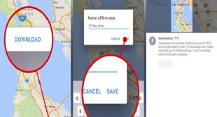 How to Download Google's Offline Maps on iPhone
